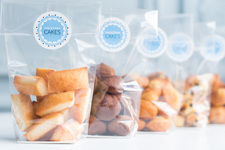 Shuktara Cakes - Financiers Bag of 12 mini