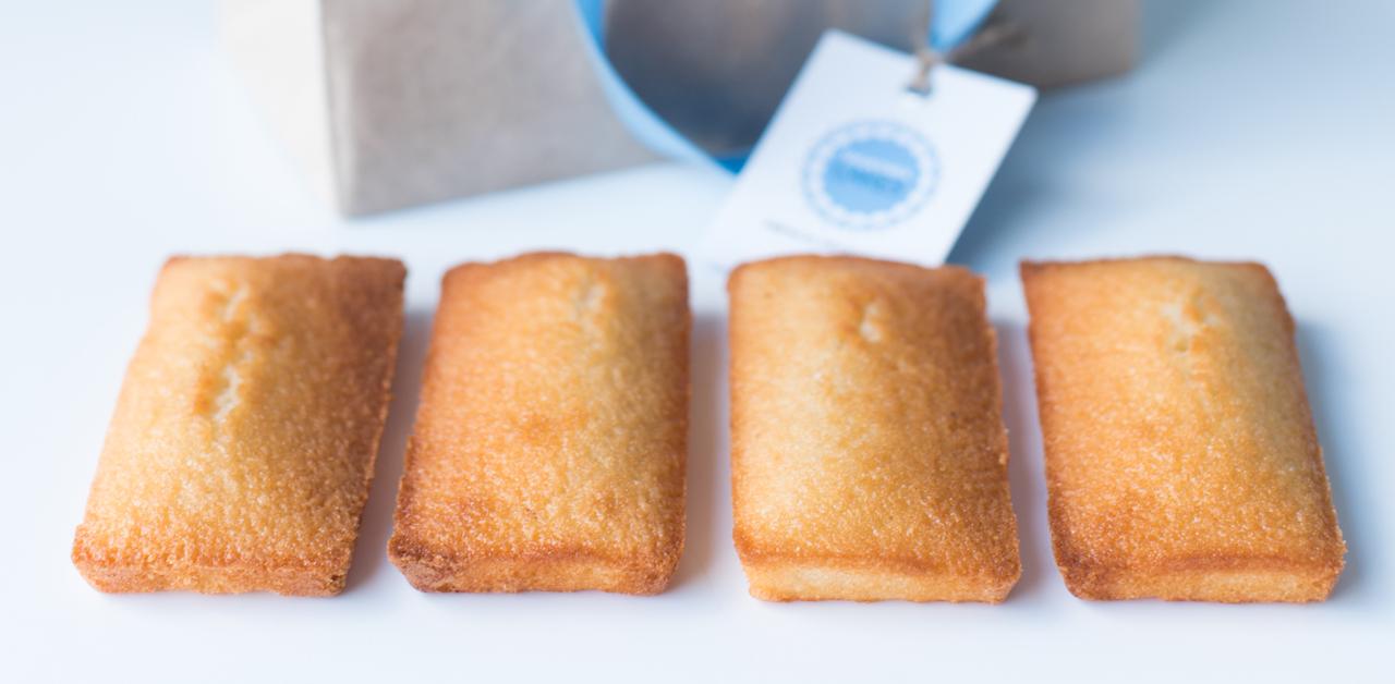 Shuktara Cakes - four almond financiers
