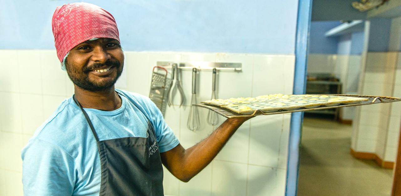 Shuktara Cakes - Sanjay, one of the team
