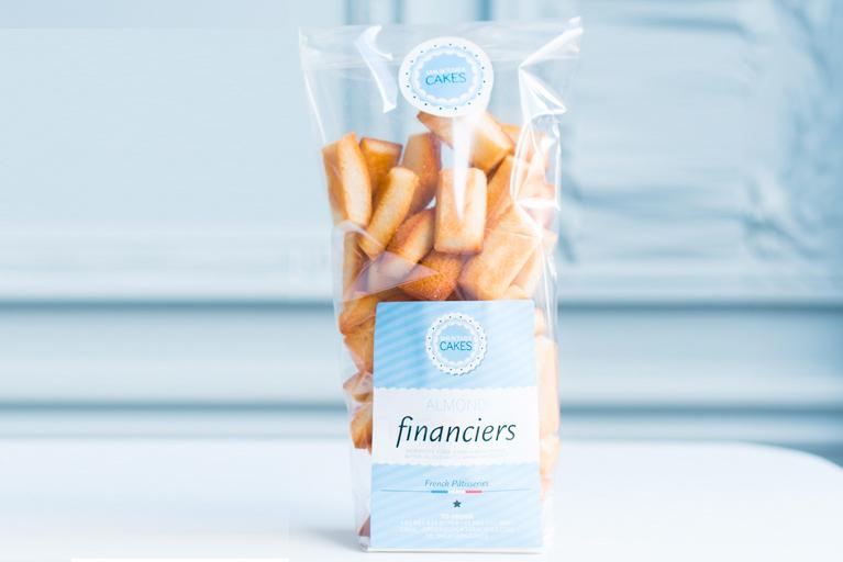 Shuktara Cakes - Financiers Bag of 50 mini