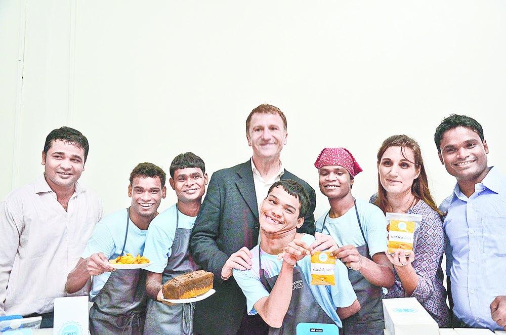 Shuktara Cakes team with Alain Cojean