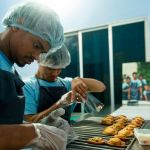 Shuktara Cakes - Raju and Ashok packaging madeleines