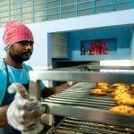 Shuktara Cakes - Sanjay checking the finished madeleines