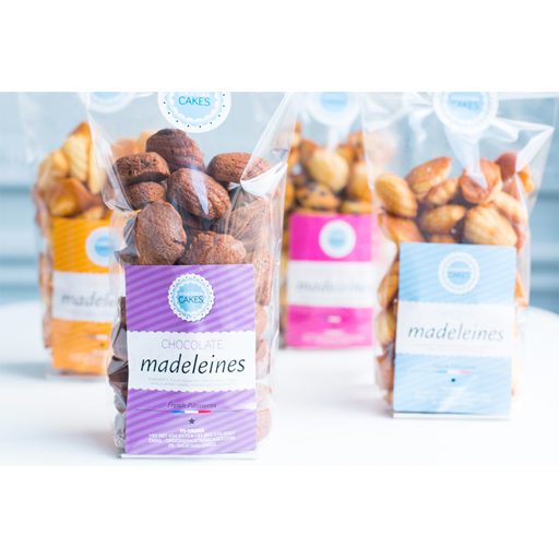 Shuktara Cakes - Madeleines Bag of 50 Mini