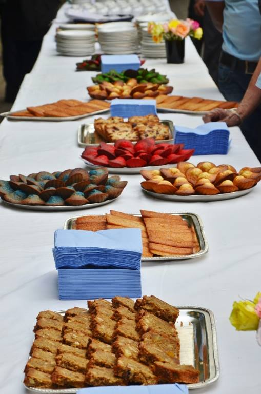 SHUKTARA CAKES - buffet of cakes, madeleines and financiers