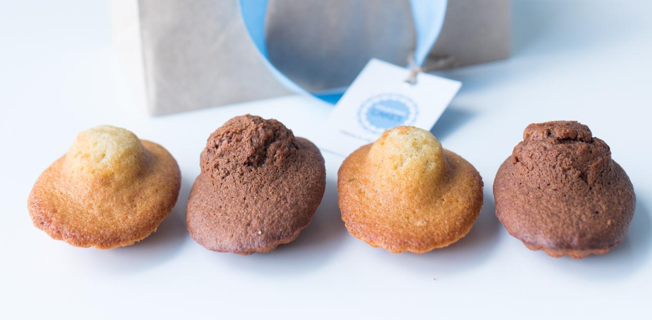 Shuktara Cakes - four madeleines