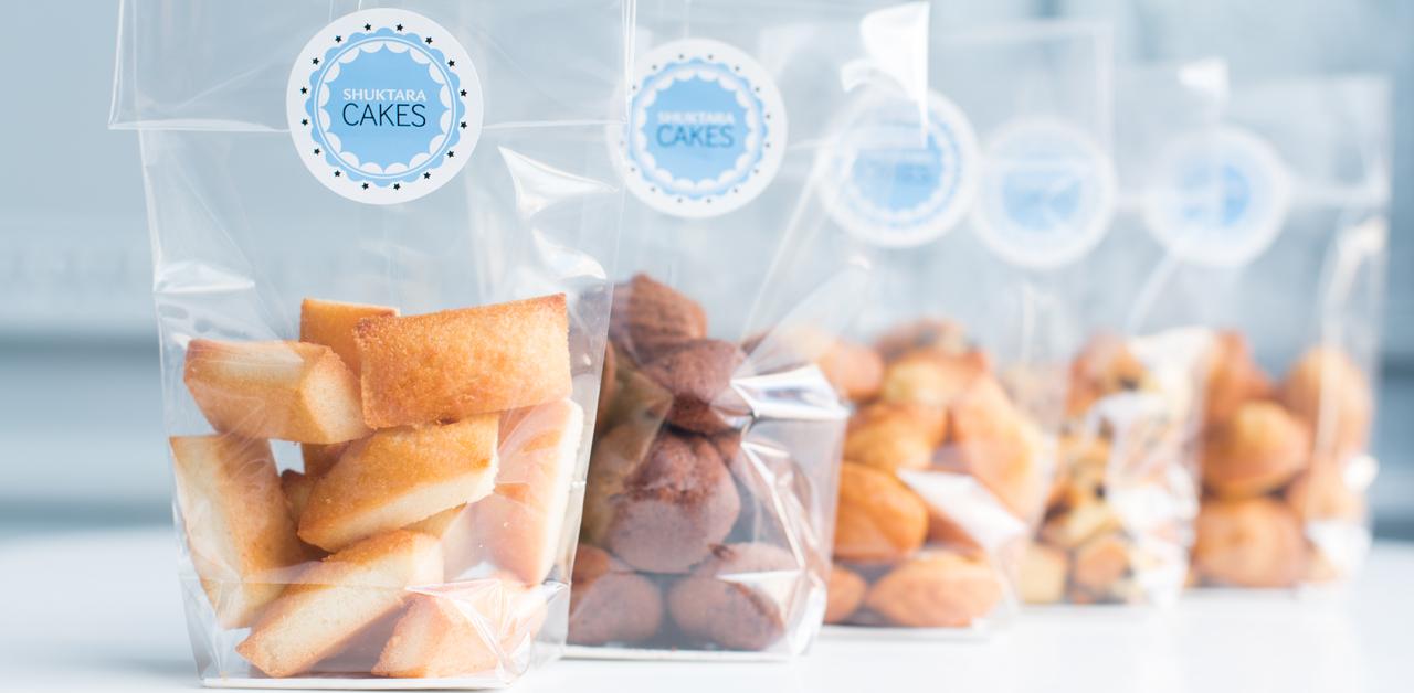 Shuktara Cakes - petits paquets financiers
